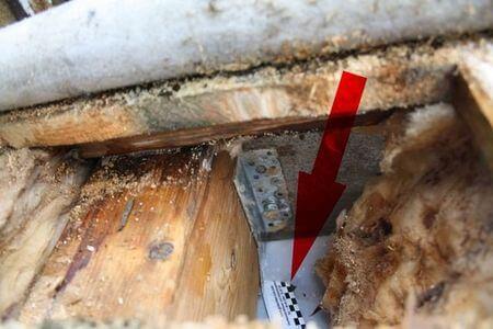 Undichte Luftdichtheitsebene im Flachdach